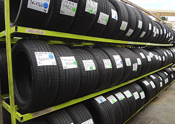 High Tread Used Tires